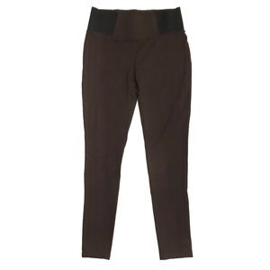 Maurices Brown Ponte Pull On Stretch Leggings